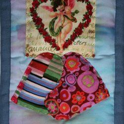 L'amore - Tarocchi di stoffa