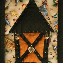 L'eremita - Tarocchi di stoffa
