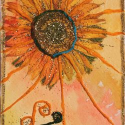 Il Sole - Tarocchi di Rose