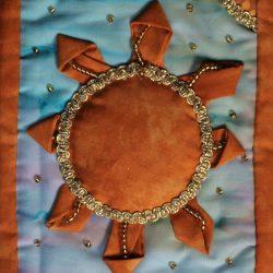 Il Sole - Tarocchi di stoffa