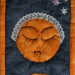 La Luna - Tarocchi di stoffa