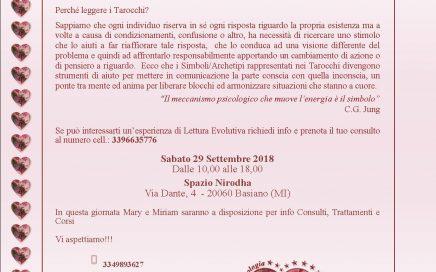 Volantino - Evento Lettura Simboli e Archetipi